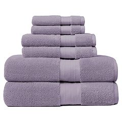 Crowning Touch Luxury Turkish Cotton 6 pc Bath Towel Set