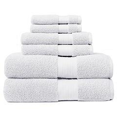 Crowning Touch Luxury Turkish Cotton 6 pc Bath Towel Set