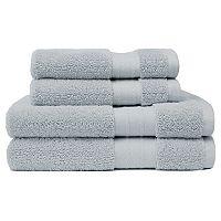 Crowning Touch Luxury Turkish Cotton 4-piece Bath Towel Set