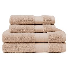 Crowning Touch Luxury Turkish Cotton 4 pc Bath Towel Set