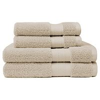 Crowning Touch Luxury Turkish Cotton 4 pc Bath Towel Set