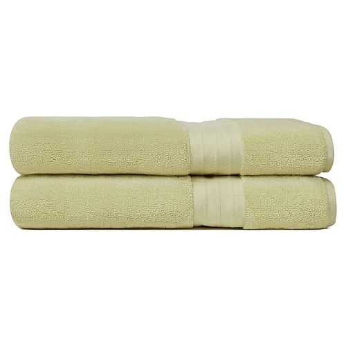 Crowning Touch Luxury Turkish Cotton 2-pack Bath Sheet