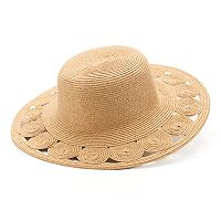 Women's SONOMA Goods for Life™ Open Work Circle Brim Floppy Hat
