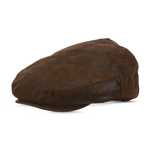 Men's Stetson Weathered Leather Ivy Cap
