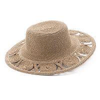 Women's SONOMA Goods for Life™ Open Work Brim Floppy Hat