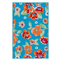 SONOMA Goods for Life™ Floral Indoor Outdoor Rug