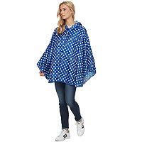 Style Collective Polka Dot Rain Poncho