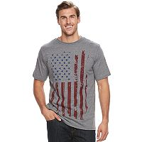 Big & Tall Apt. 9® Frequency Americana Flag Graphic Tee