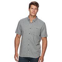Men's Vans Short Sleeve Button-Down Shirt