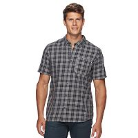 Men's Vans Short Sleeve Button-Down Shirt