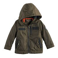 Toddler Boy Urban Republic Oxford Midweight Hooded Jacket