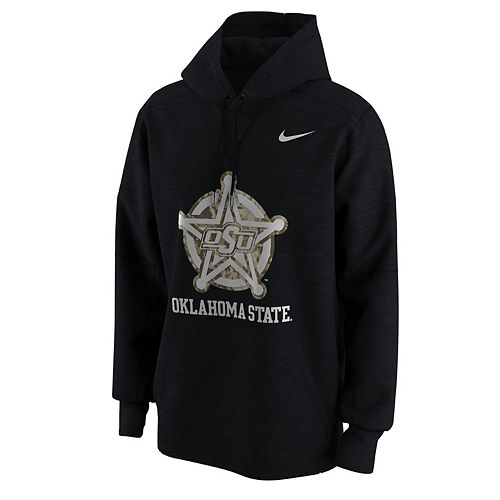 online retailer f64d2 53d4b Men's Nike Oklahoma State Cowboys Camo Pack Hoodie