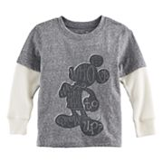 Disney's Mickey Mouse Toddler Boy 'Who Says We Have To Grow Up?' Mock Layer Tee by Jumping Beans®