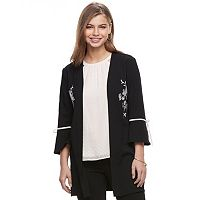 Juniors' Candie's® Embroidered Bell Sleeve Kimono