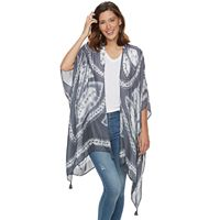 SONOMA Goods for Life™ Muted Tie Dye Block Kimono