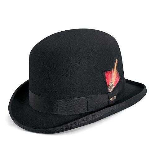 Men's Scala Wool Felt Grosgrain Derby Hat