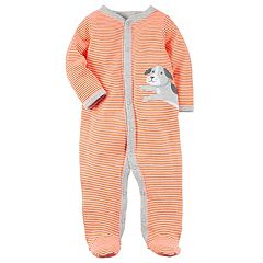 Baby Boy Carter's Dog Striped Sleep & Play