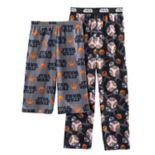 Boys 4-16  Star Wars BB8 2-Pack Lounge Pants & Shorts