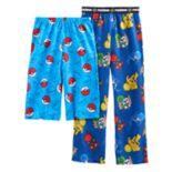 Boys 4-16 Pokemon 2-Pack Lounge Pants & Shorts