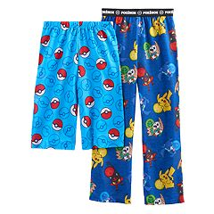 Boys 4-16 Pokemon 2-Pack Lounge Pants & Shorts