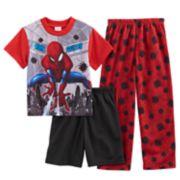 Boys 4-10 Spider-Man 3-Piece Pajama Set
