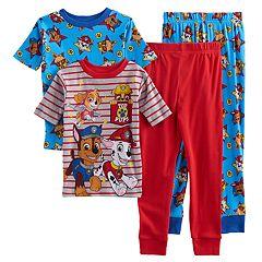 Boys 4-8 Paw Patrol 4-Piece Pajama Set