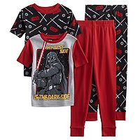 Boys 6-12 Star Wars 4-Piece Pajama Set