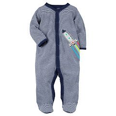 Baby Boy Carter's Rocket Striped Sleep & Play