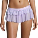 Women's Maidenform Extra Sexy Floral Lace Skirted Thong DM1123