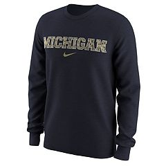 Men's Nike Michigan Wolverines Camo Wordmark Tee