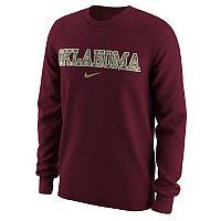 Men's Nike Oklahoma Sooners Camo Wordmark Tee