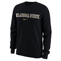 Men's Nike Oklahoma State Cowboys Camo Wordmark Tee