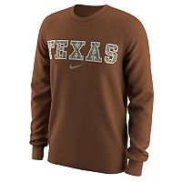 Men's Nike Texas Longhorns Camo Wordmark Tee