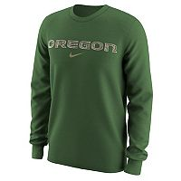 Men's Nike Oregon Ducks Camo Wordmark Tee