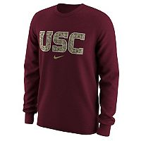 Men's Nike USC Trojans Camo Wordmark Tee