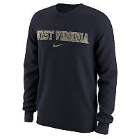 Men's Nike West Virginia Mountaineers Camo Wordmark Tee