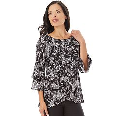 Women's Apt. 9® Asymmetrical Tiered Top