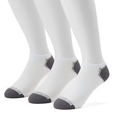 Men's Fruit of the Loom 3-pack No-Show Breathable Nylon Socks