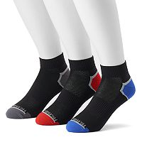 Men's Fruit of the Loom 3-pack Breathable Nylon Ankle Socks