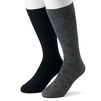 Men's Dr. Scholl's 2-pack Dressy Casual Crew Socks