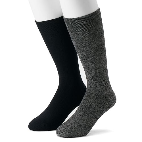 Men's Dr. Scholl's 2-pack Crew Dressy Casual Socks