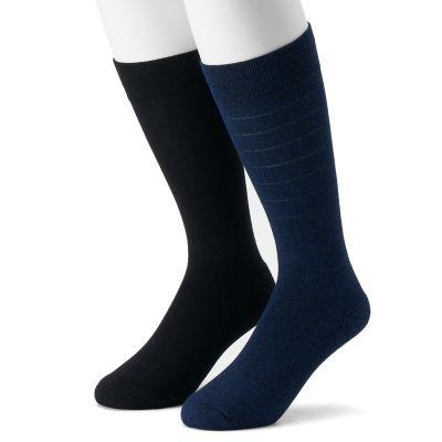 Men's Dr. Scholl's 2-pack Crew Dressy Casual Socks
