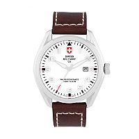 Swiss Military by Charmex(CX) Men's Pilot Leather Watch - 78333-11-C