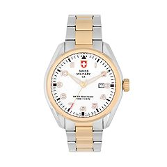 Swiss Military by Charmex(CX) Men's Pilot Two Tone Stainless Steel Watch - 78333-11-E