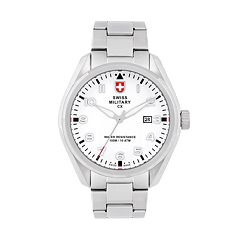 Swiss Military by Charmex(CX) Men's Pilot Stainless Steel Watch - 78333-11-H