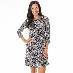Women's Apt. 9® Print Swing Dress