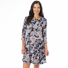 Women's Apt. 9® Print Swing Dress