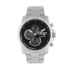 Head Men's Topspin Stainless Steel Chronograph Watch - HE-003-01