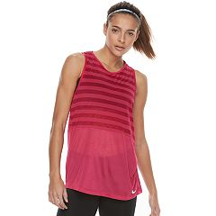 Women's Nike Breathe Striped Training Tank
