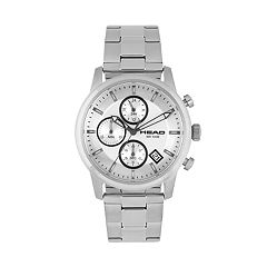 Head Men's Match Point Stainless Steel Chronograph Watch - HE-004-02